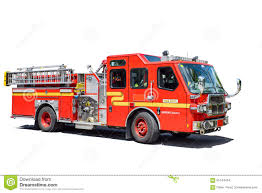 100 Fire Truck Red Fire Truck Isolated Stock Photo Image Of Silver 65144454