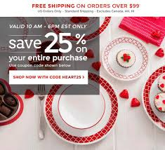 Our Gift To You - 25% OFF! Happy... - Corningware, Corelle ... E2save Coupons Carol School Supply Printable Krazy Coupon Lady Loccitane Boston Hotel Discount Codes Hilton Corelle Outlet Store Promo Code Animoto Corningware Corelle Black Friday Sale Childrems Place Hop On Hop Off New York Shop Ccs Gordon The Hobbit Shop Deals Ac In Delhi Best Sale Bespoke Verse Download To My Phone Flash Sale 20 Your Total Frys Discount Bakery Denton Kids Set Bath And Body Works