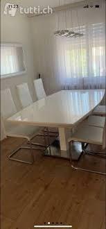 esstisch mit gratis stühle kaufen auf ricardo