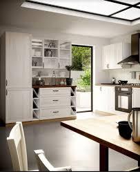 küche küchenzeile landhaus weiß grau shabby soft küchenblock
