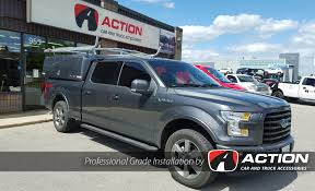 Compak Spacekap With Ladder Rack Installed On This 2016 Ford F150 ...