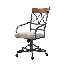Powell Hamilton Swivel-Tilt Dining Chair On Casters