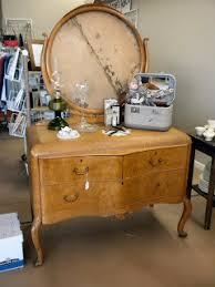 Birdseye Maple Veneer Dresser by Vintage Sweet Boutique Antique Birdseye Maple Waterfall Dresser