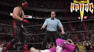 Halloween Havoc 1999 Hogan Sting by Wwe2k17 Dlc Showcase Mode Simulation Bret Hart Vs Sting Halloween