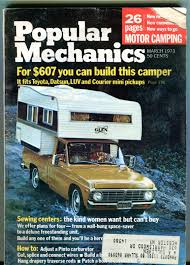 Popular Mechanics Magazine March 1973 Build This Camper VG 040116jhe ... 2017 Cirrus 820 Review Van Life Truck Camper And Sprinter Van Torklifts True System Ford F250 Crew Cab Camper Tie Down Rv Climbing Quicksilver Truck Tent Quicksilver Xlp Ultra Lweight Picking The Perfect Magazine Pickup Picks Ram 3500 For Project Dodge Yellowstone Travel Trailer Theres No Place Like Homemade Diy Rv The Personal Security And Survivors Web Magazine Pickup Truck Trailer Life Open Roads Forum Campers Honda 27 Awesome On Gooseneck Assistrocom Dorable Pickup Wiring Diagram Ornament Simple Unbelievable
