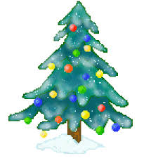 28 Collection Of Christmas Tree In Snow Clipart