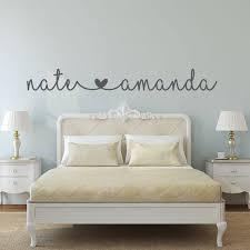 name aufkleber name aufkleber schlafzimmer wandtattoo schlafzimmer dekor schlafzimmer wand dekor verbunden herzen name hochzeitsgeschenk