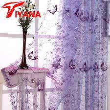 chambre d h e romantique tiyana romantique moderne brodé paillettes papillon rustique sheer