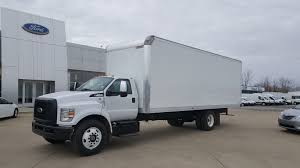 2) FORD New F650 2018 26' Dry Freight Straight Truck Gasoline ...