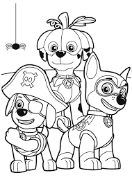 Nick Jr Coloring Pages Halloween