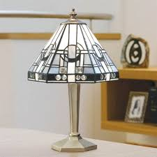 Rembrandt Floor Lamp With Table by Art Deco Floor Lamp Shades And Signed Rembrandt With Leaded Shell