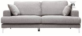 achat canapé pas cher canapé design 3 places tissu gris clair bomen pas cher prix canapé
