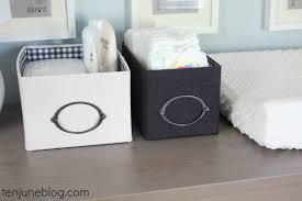 Baby Changer Dresser Top by Ten June Nursery Update Ikea Dresser Turned Changing Table