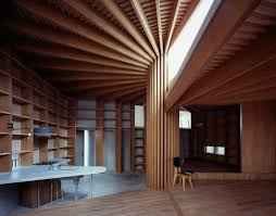 100 Tree House Studio Wood Mount Fuji Architects Kenichi Suzuki House