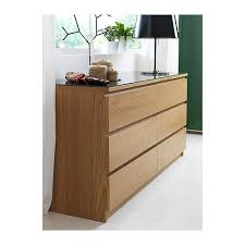 Ikea Kullen Dresser 6 Drawer by Malm Chest Of 6 Drawers Oak Veneer 160x78 Cm Malm Drawers And