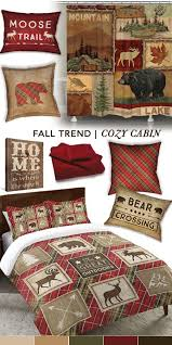 Decorate Your Home With Various Plaids And Wood Textures To Give It That Cozy Cabin Feel