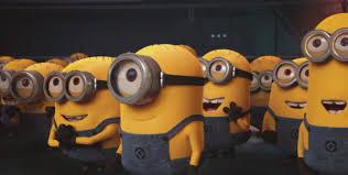 Happy Minions GIF