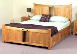 Bookcase Bed Frame Queen Image Solid Platform Bed No Slats