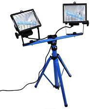 craftsman halogen work light with stand and tripod 500w 73935 ebay