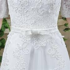 princess a line off the shoulder short lace sleeve corset wedding