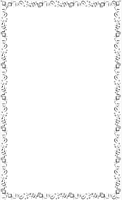 Confetti Border Clipart Black And White ClipartXtras