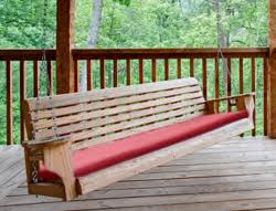 Custom Porch Swing Cushions
