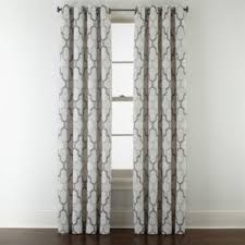 Jcpenney Sheer Grommet Curtains by Studio Casey Jacquard Grommet Top Curtain Panel Jcpenney