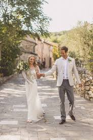 Anna Campbell Adelaide Wedding Dress Rustic Luxe In Tuscany Styled By The