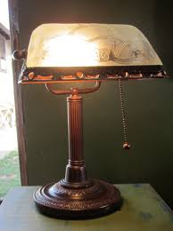 Antique Bankers Lamp Green by Vintage Bankers Lamp Antiqueness In Style All About Home Design