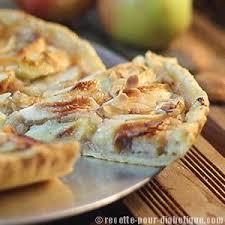 recette dessert aux pommes tarte aux pommes et amandes sans sucre ajouté