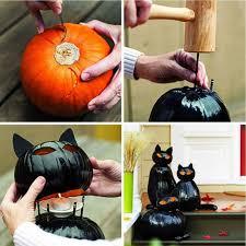 Drilled Jack O Lantern Patterns by 50 Of The Best Pumpkin Decorating Ideas Black Cats Pumpkin