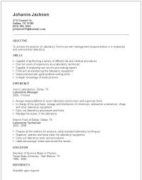 Sample Resume Laboratory Supervisor Feat Examples Manager