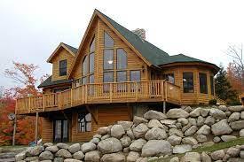 104 Wood Homes Magazine New England Log Cabin Home Design Construction Sales New England Living