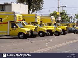 100 Rent Ryder Truck Fleet Of Yellow Rental Trucks In Lot Stock Photo