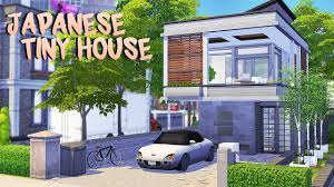 104 Japanese Tiny House The Sims 4 Speed Build Youtube