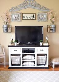 Luxuriant Tv Unit Decorating Living Room Ideas Stand Decor Rustic Farmhouse
