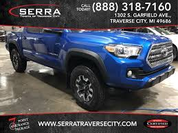 100 Used Toyota Tacoma Trucks For Sale 2016 At Serra Traverse City VIN