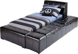 Zoey Black 3 Pc Twin Storage Bed Beds Colors