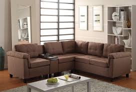 Brown Couch Living Room by Earsom Sectional Sofa