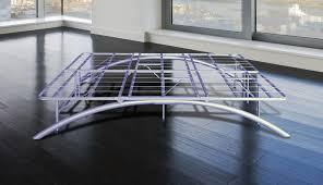 King Bed Frame Metal by Ca King Size Bow Leg Metal Platform Bed Frame U2013 14 Inch High