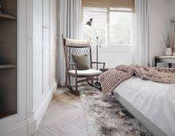 Interior Rocking Chair 2 Homes In Mediterranean Rustic Chic