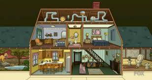 100 Family Guy House Plan Floor Plan Layout And Bonus Cutaway Section View Of The Griffin