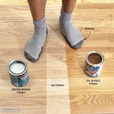 Applying Minwax Polyurethane To Hardwood Floors how to apply polyurethane family handyman