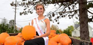 Largest Pumpkin Contest Winners by Cardinal Senior Crowned Huntsburg Pumpkin Festival Queen Geauga