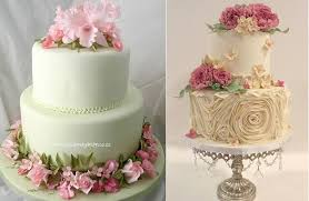 Garden Style Wedding Cakes By Cupcakes Design South Africa Left Lisa Roberts