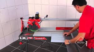 Sigma Tile Cutter Canada by Wet Saw Tile Cutter Cortador Eléctrico Rubi Dc 250 1200 Youtube