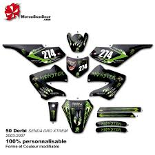 kit deco derbi senda xtreme kit déco 50 derbi energy griffe 03 07