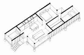 100 Homes From Shipping Containers Floor Plans Container Houses Inspirational