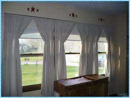 primitive curtains for living room home decorations ideas