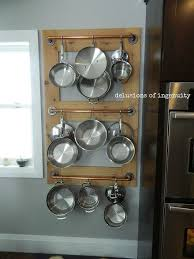 Pot Farm Pot Rack Kitchen Storage
